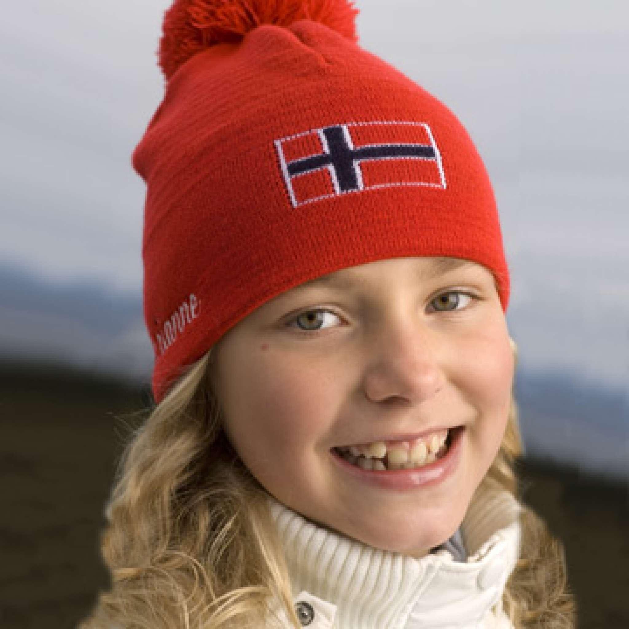 Mütze mit Norwegenflagge