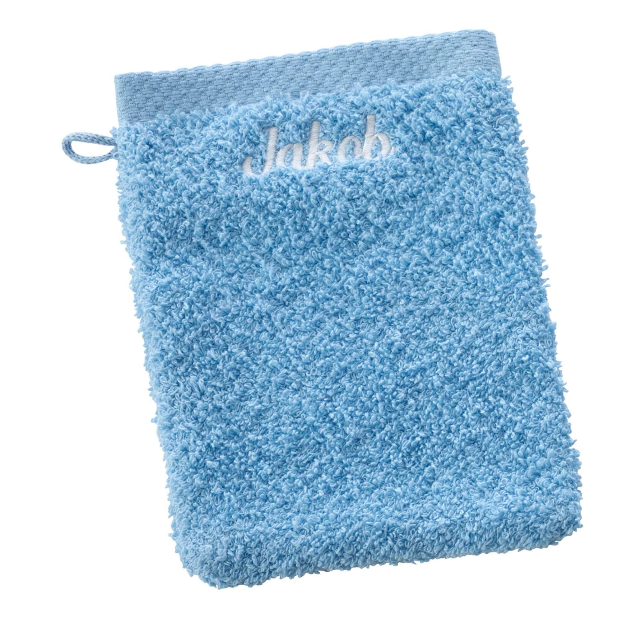 Waschhandschuh mit Namen | Pure exclusive