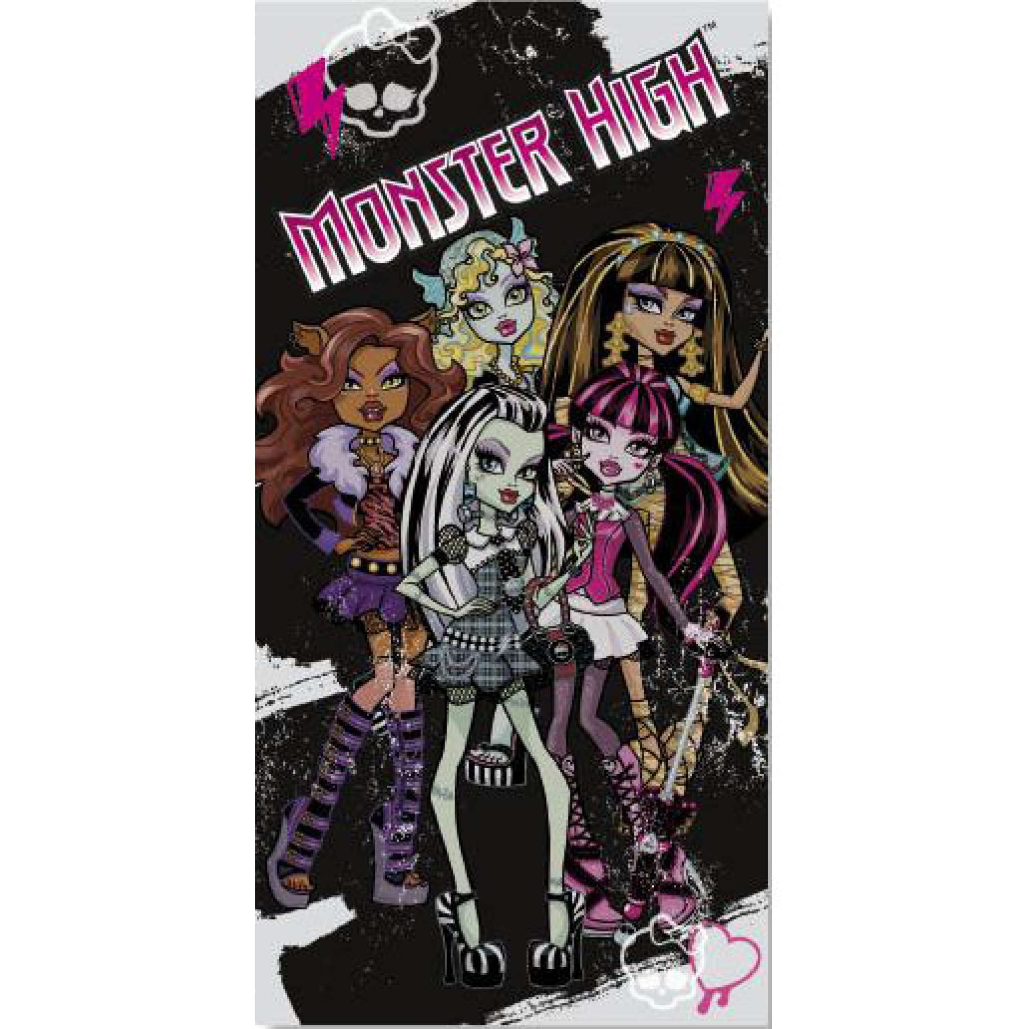 Badehandtuch, Monster High