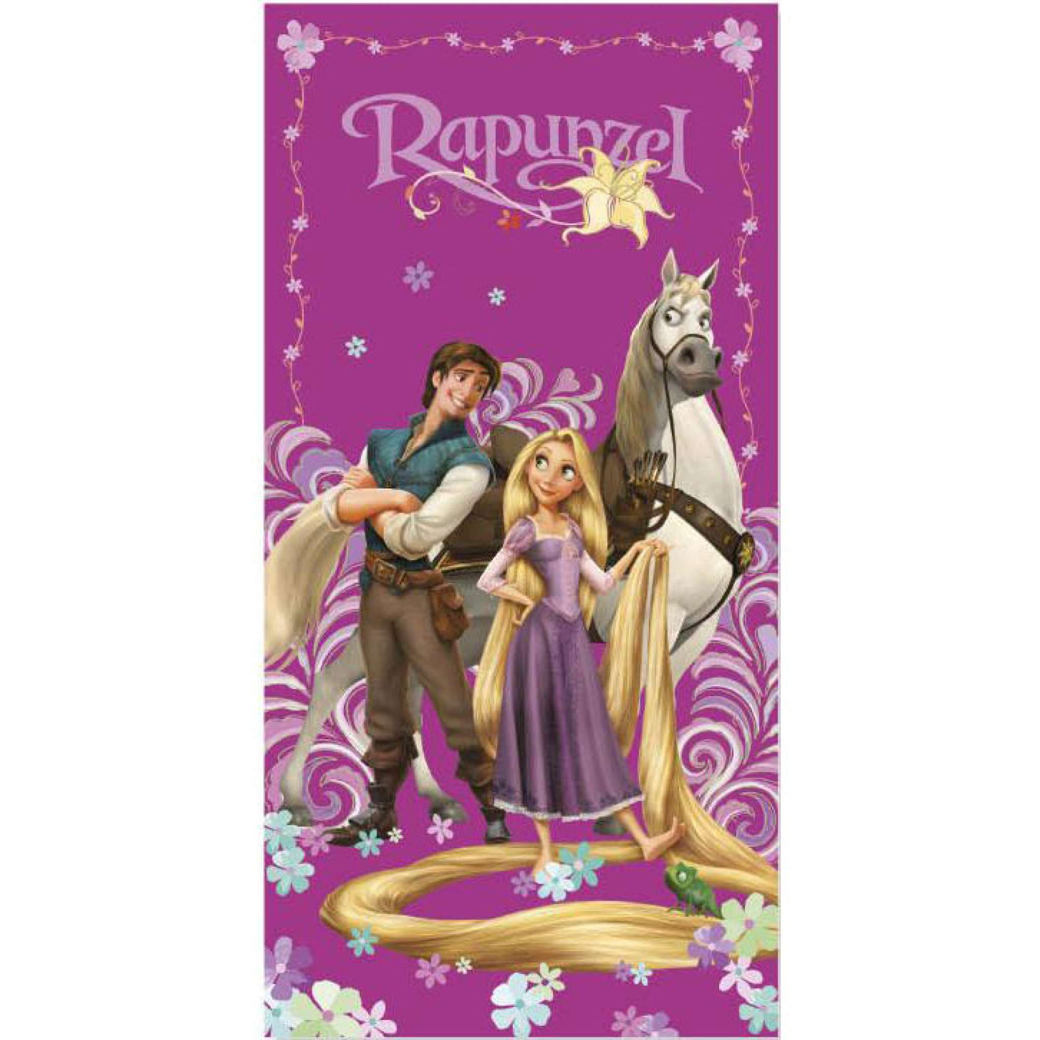 Rapunzel Badehandtuch