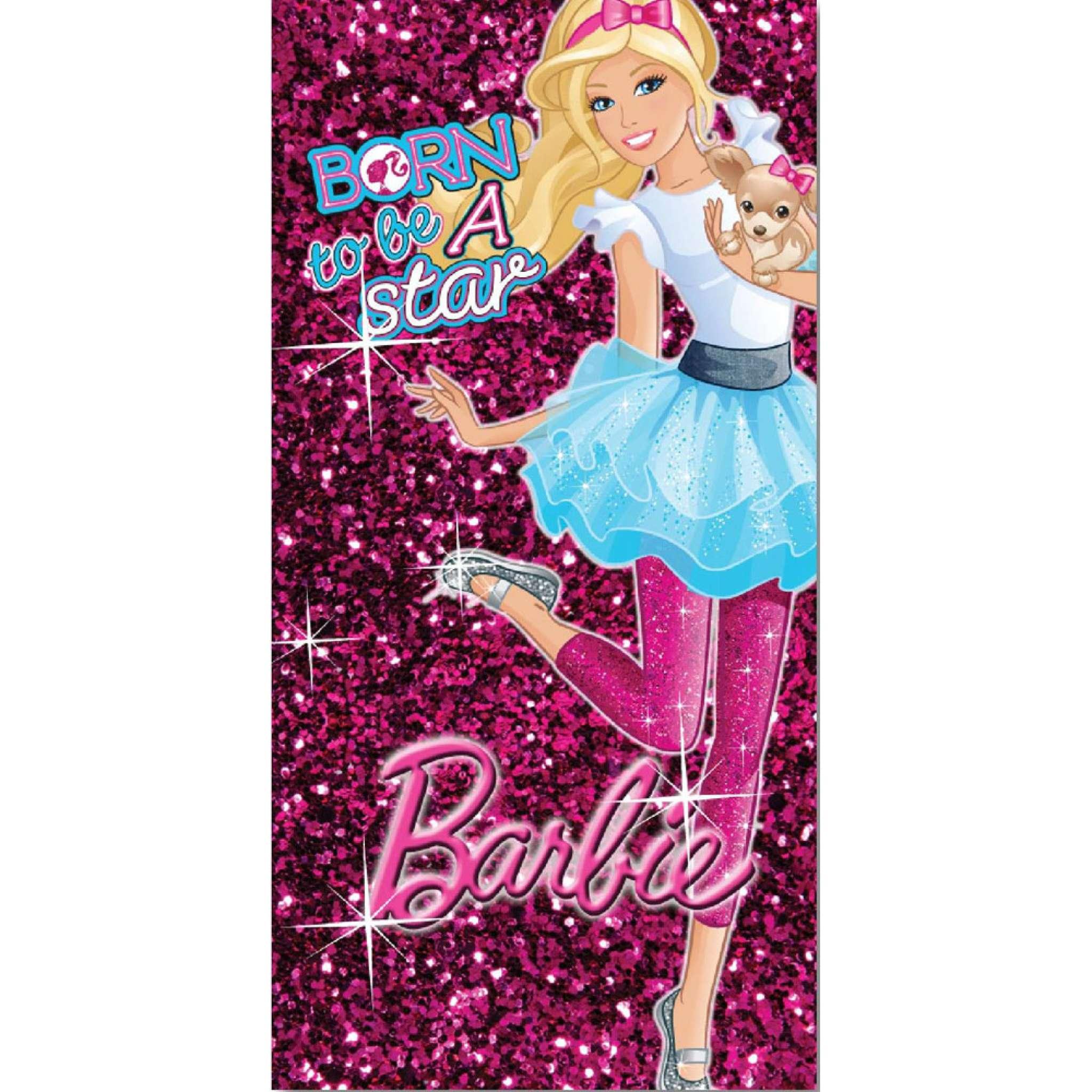 Barbie Badehandtuch