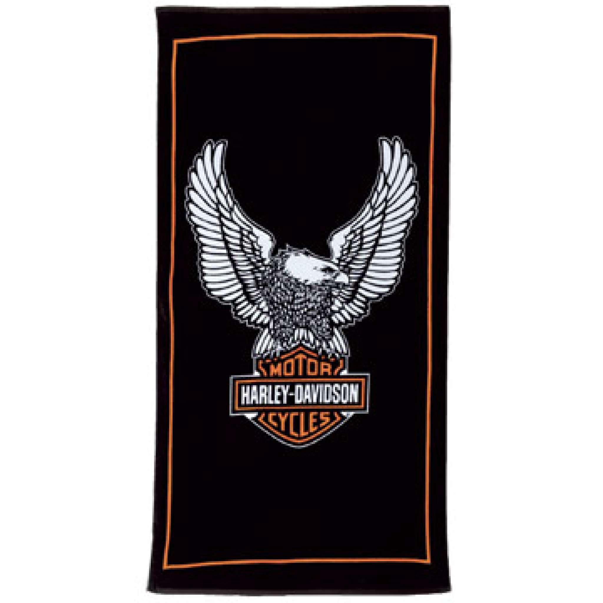 Badehandtuch, Harley Davidson