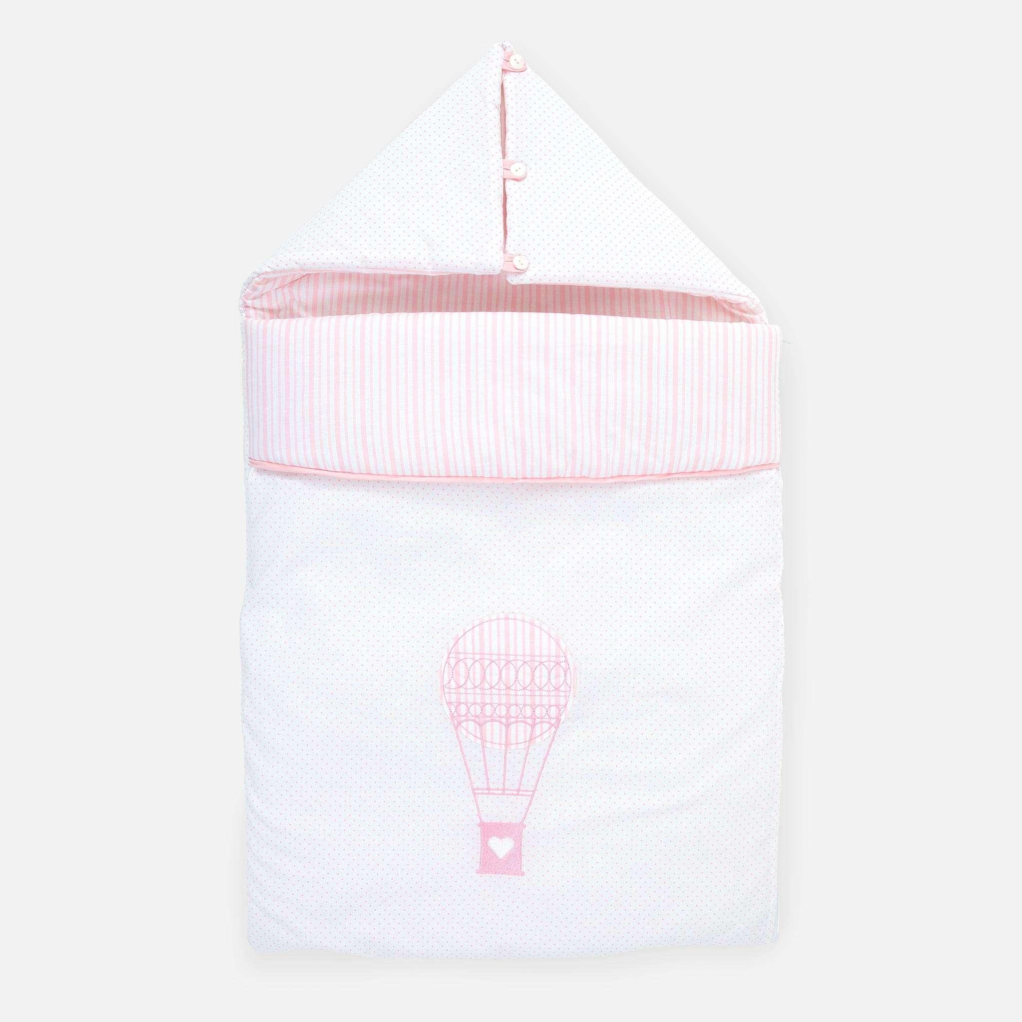 Reiseschlafsack, Ballon Pink