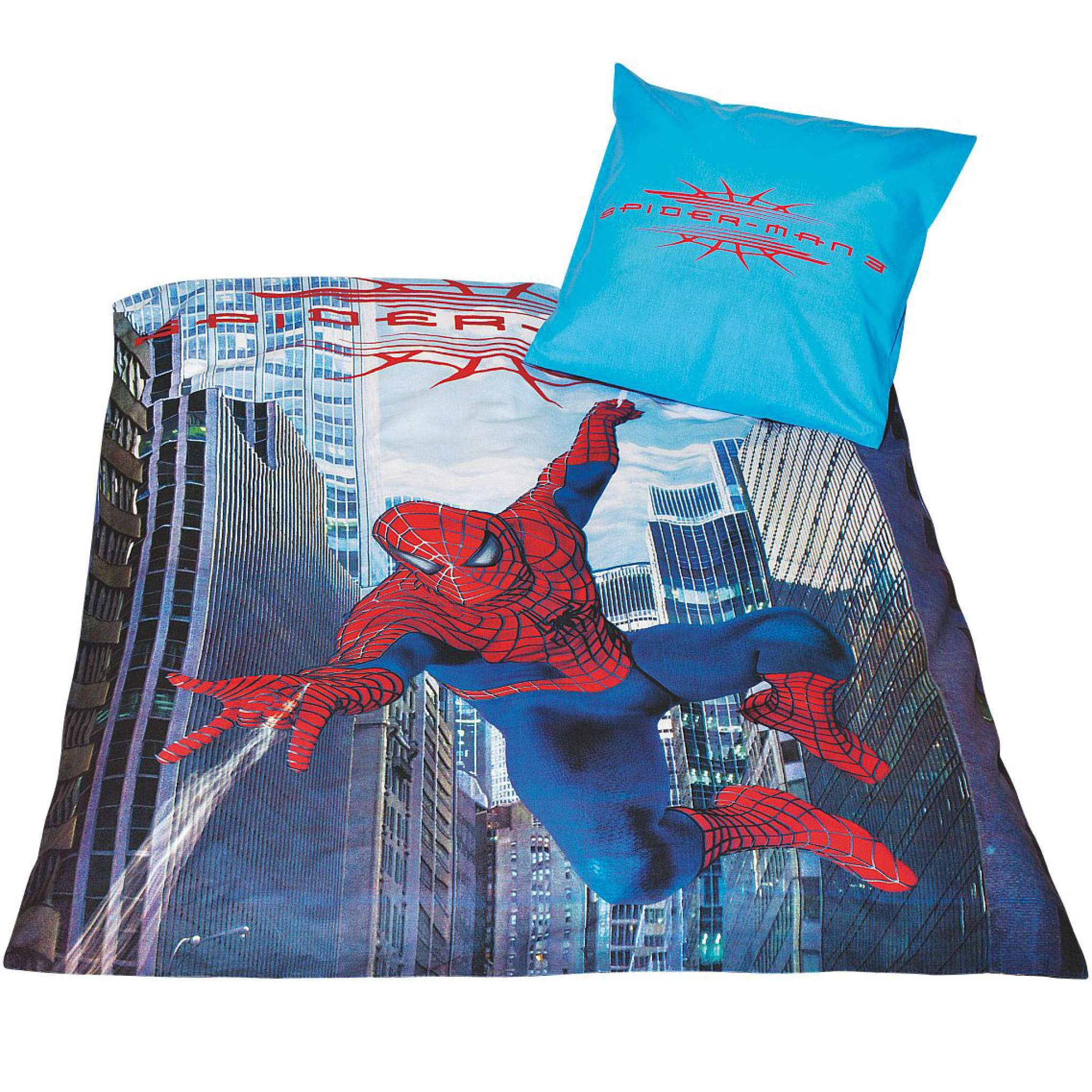 Spiderman Bettwäsche