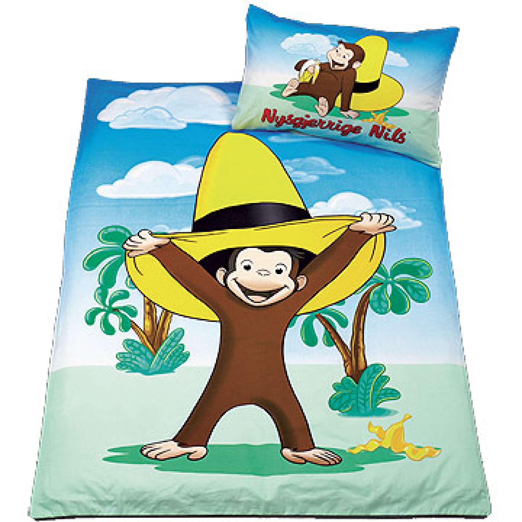Bettwäsche, Coco, der neugierige Affe