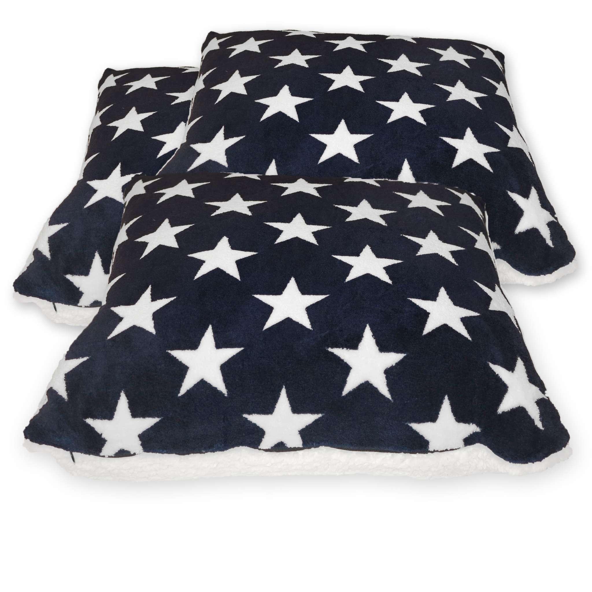 Kissen mit Sternen-Set, Westport, 3-teilig