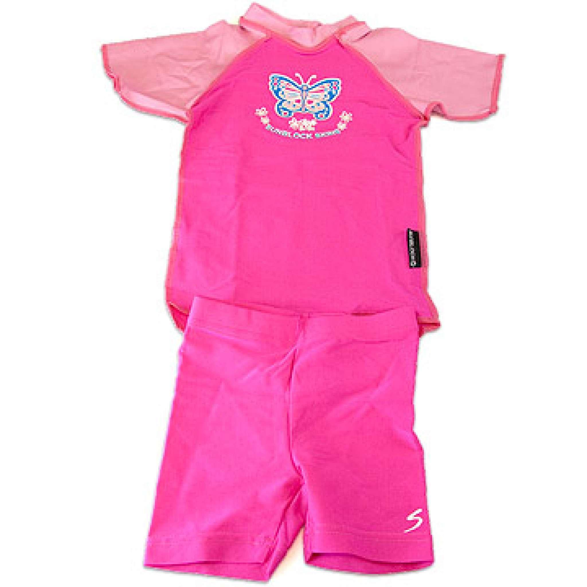 UV-Kleidung Kinder 50+ Rosa 2-5 Jahre