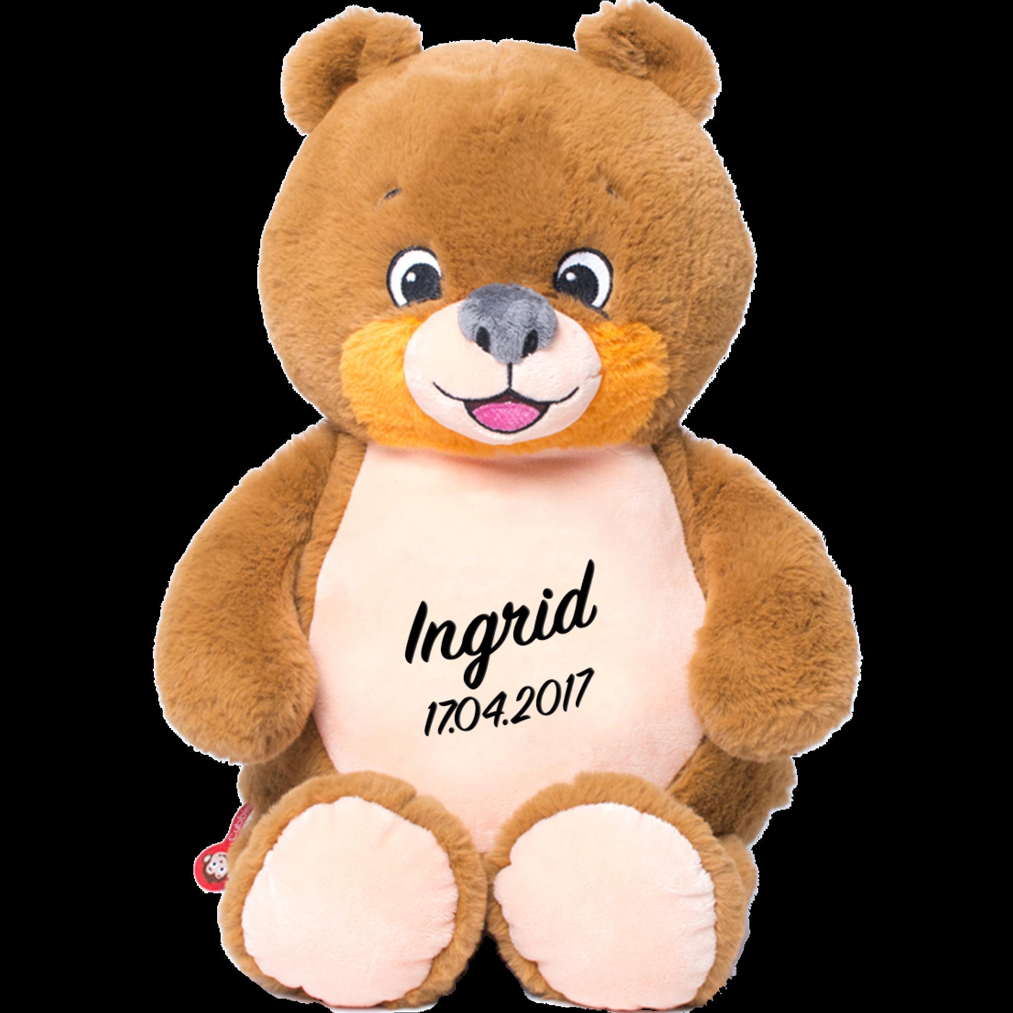 Cubbies Teddybär signatur