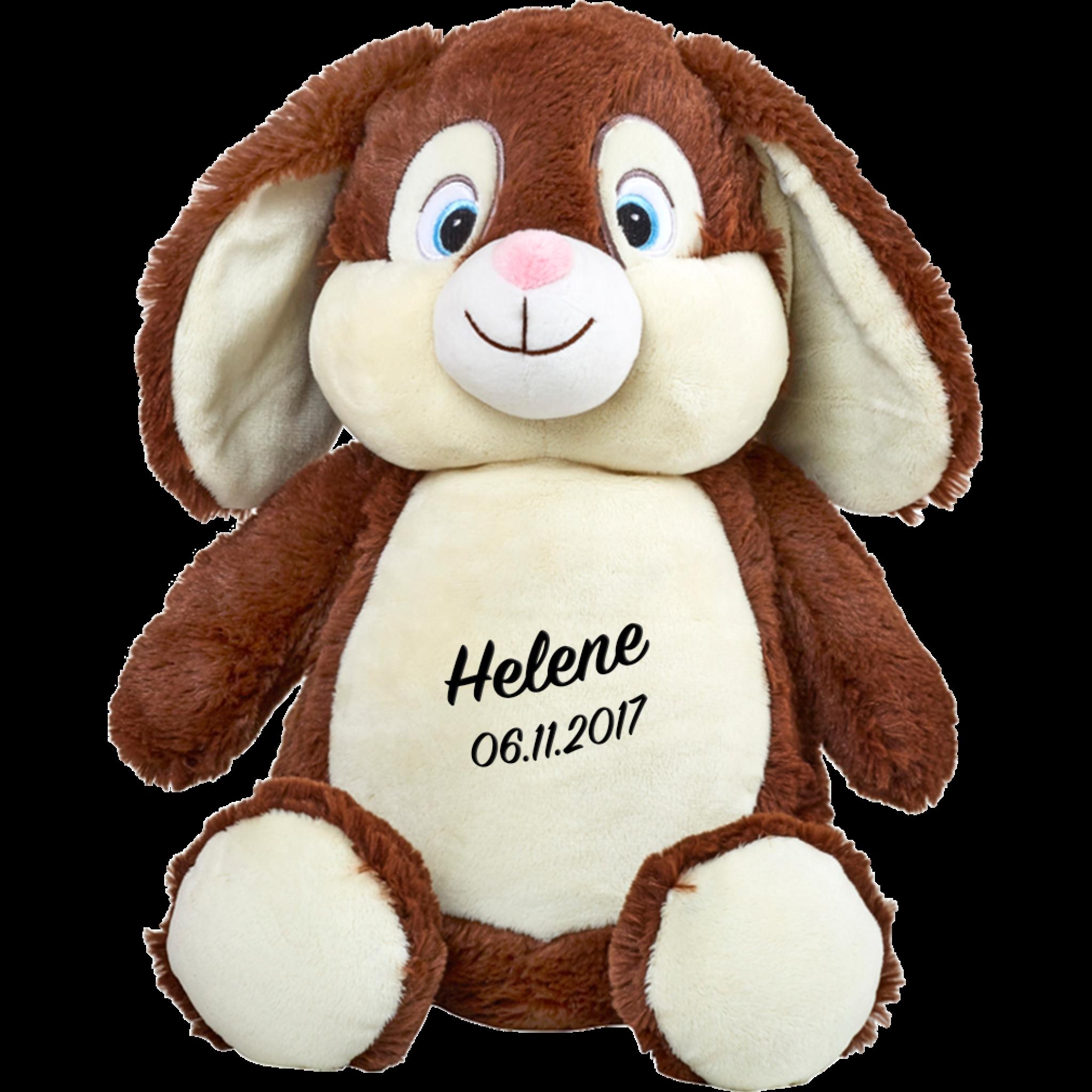 Cubbies Kaninchen Schokoladenbraun