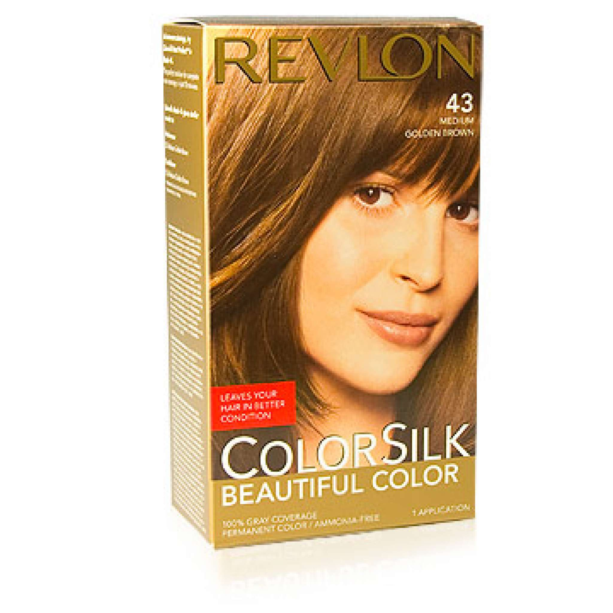 Revlon Colorsilk Haarfärbung, 43  med. Golden Brown