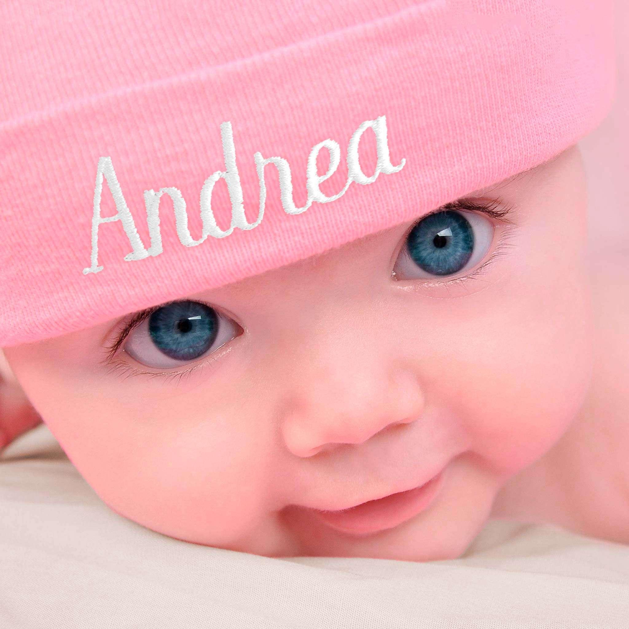 Organic Babymütze mit Namen
