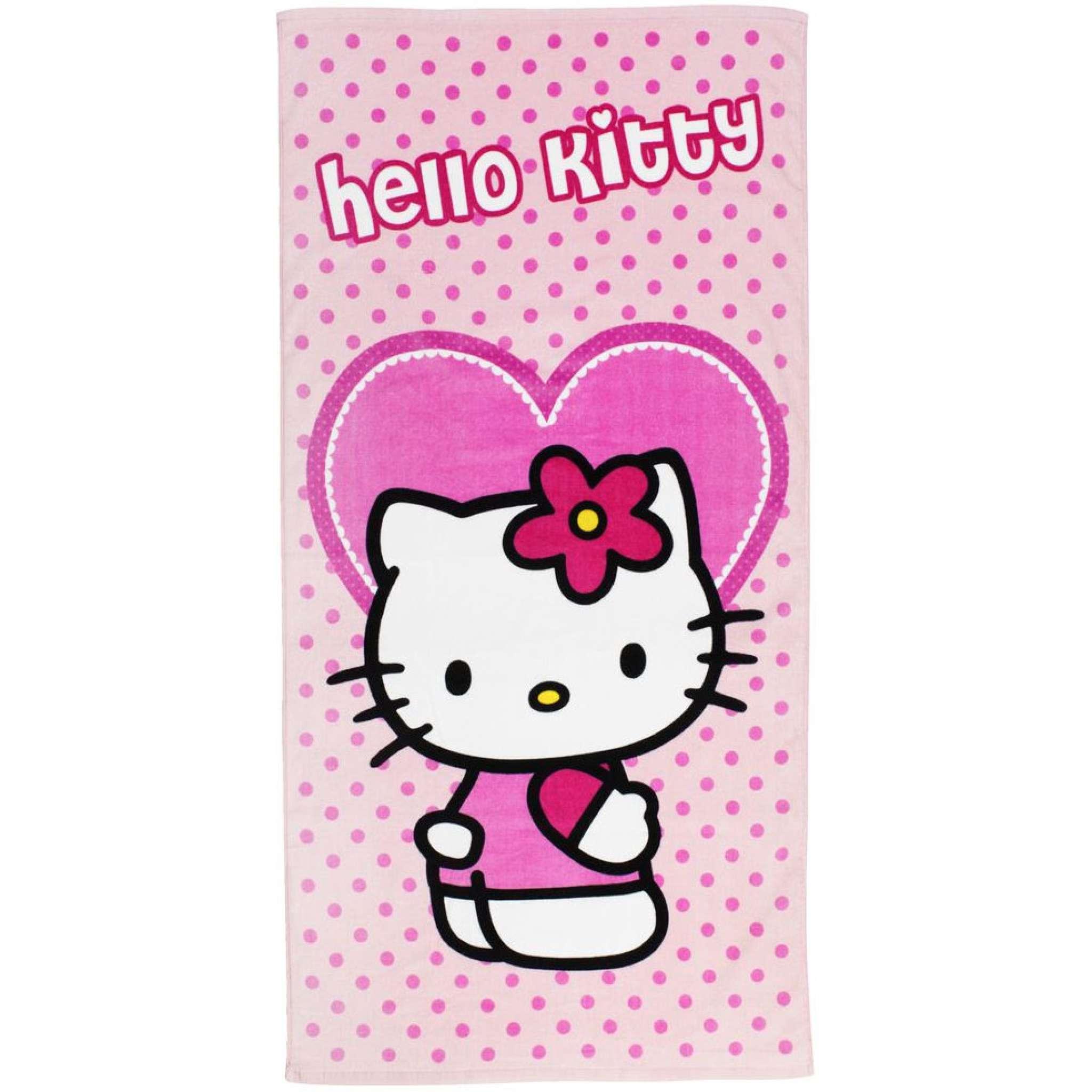 Hello Kitty Handtuch