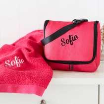 Premium Monaco Kulturtasche mit passendem Pure exclusive Handtuch.