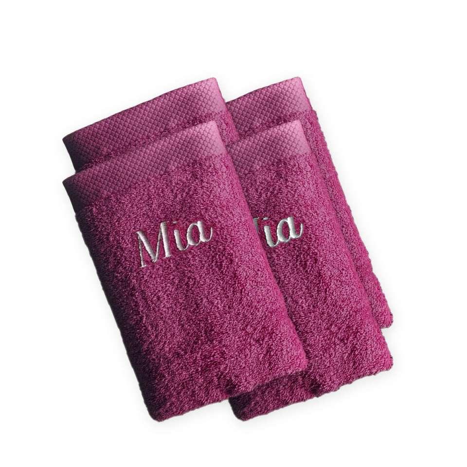 4 Stück Pure exclusive Waschhandschuh