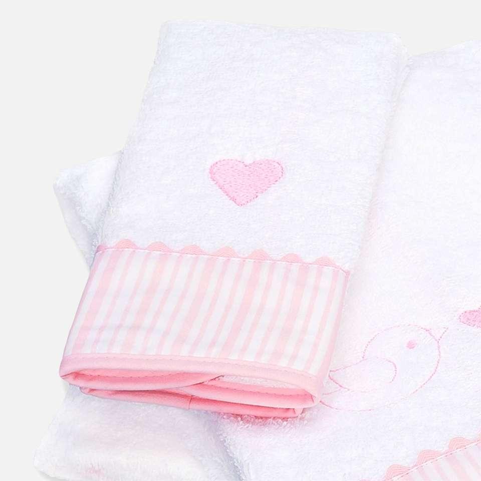 Handtuch 50x100 cm, Ballon Pink