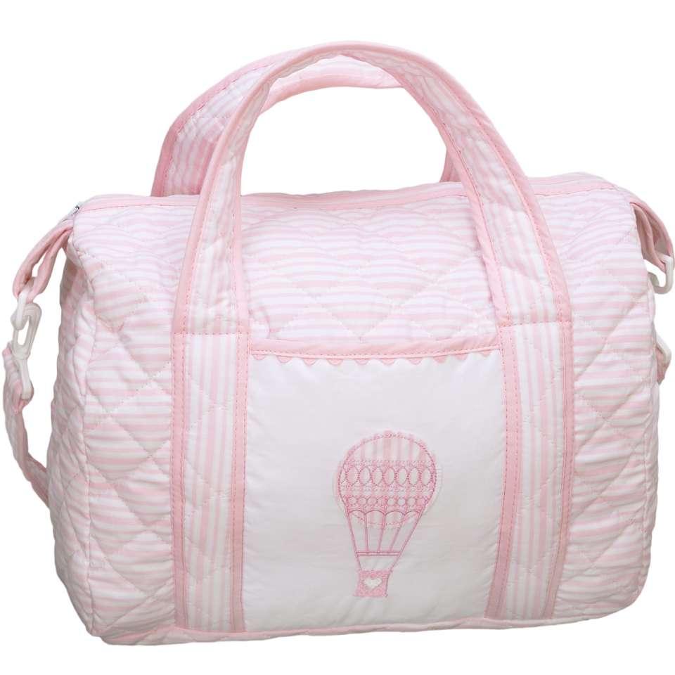 Wickeltasche, Ballon Pink
