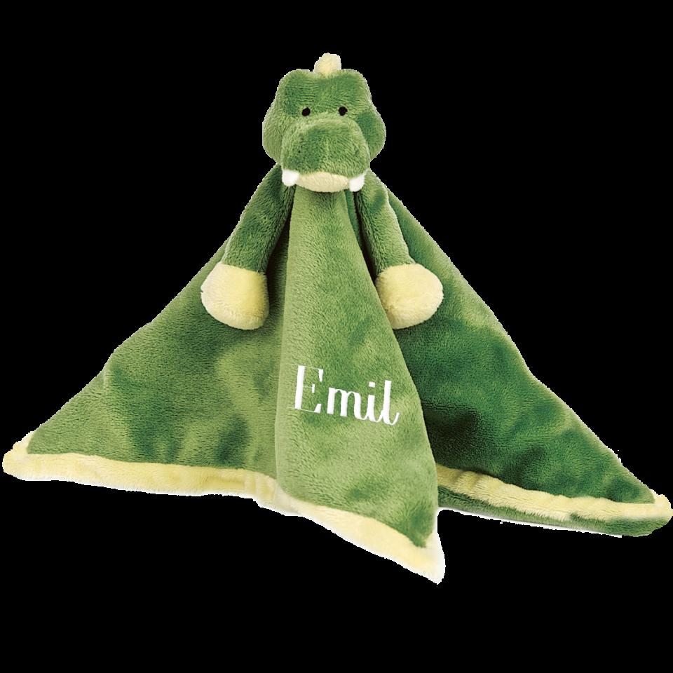Schmusetuch Diinglisar, Krokodil