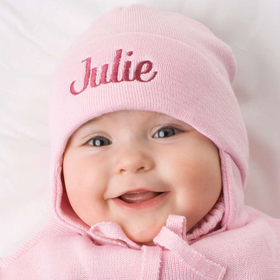 Babymütze mit Namen