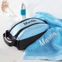 Premium Milano Kulturtasche mit passendem Pure exclusive Handtuch.