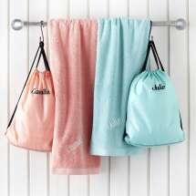 Eine noch feinere gympakke mit unserer neuen Premium-Sporttasche und Pure exclusive Badetuch!